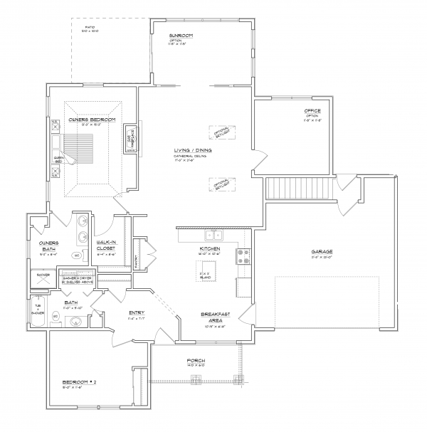 Floor Plan Features Maxwell Woods